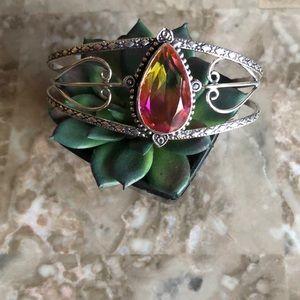 Bi-Color Tourmaline Bracelet